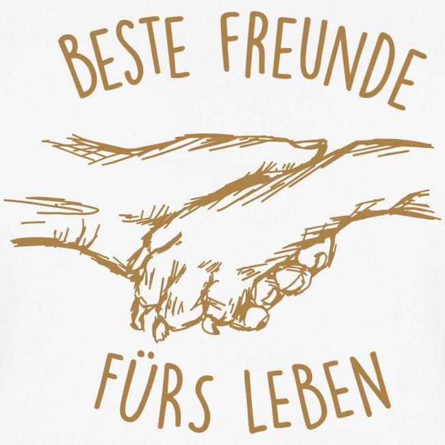 Vorschau: Beste Freunde fürs Leben - Frauen Polo Shirt