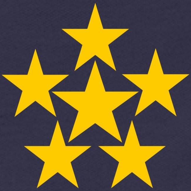 5 STERN gelb
