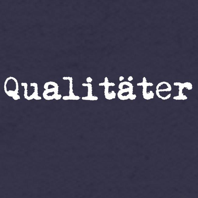 qualitäter typewriter white