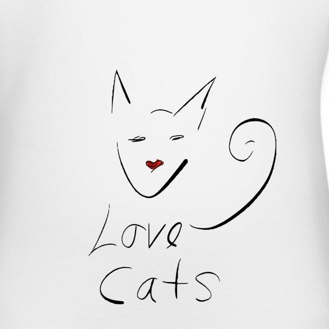 Cats love
