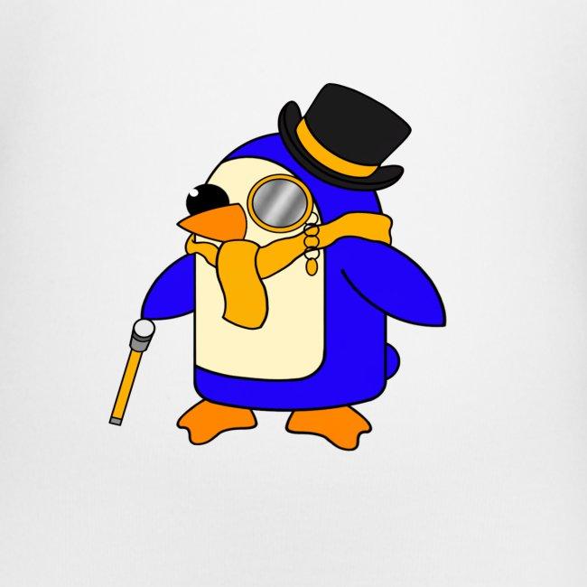 Cute Posh Sunny Yellow Penguin