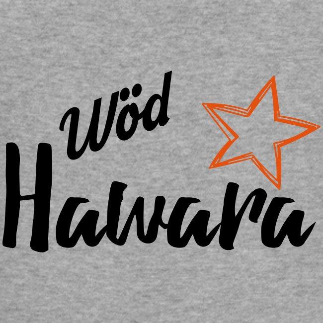 Vorschau: Wöd Hawara - Baby Bio-Kurzarm-Kontrastbody