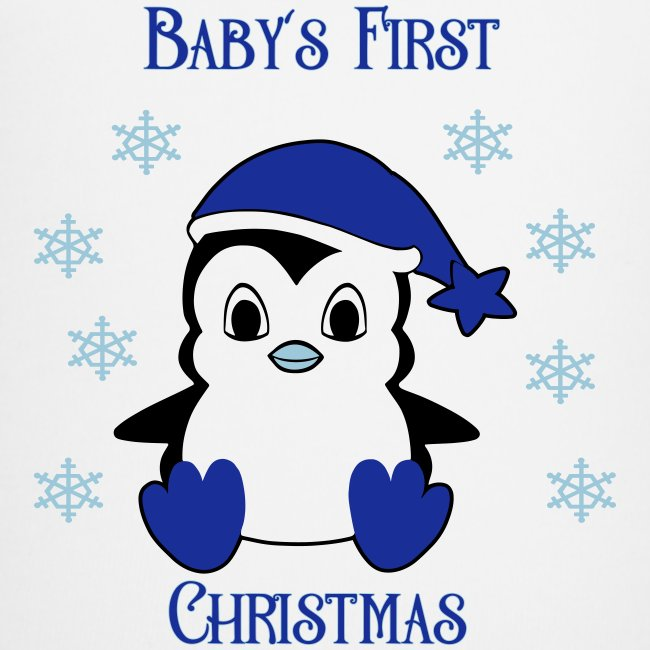 Penguin boy first christmas