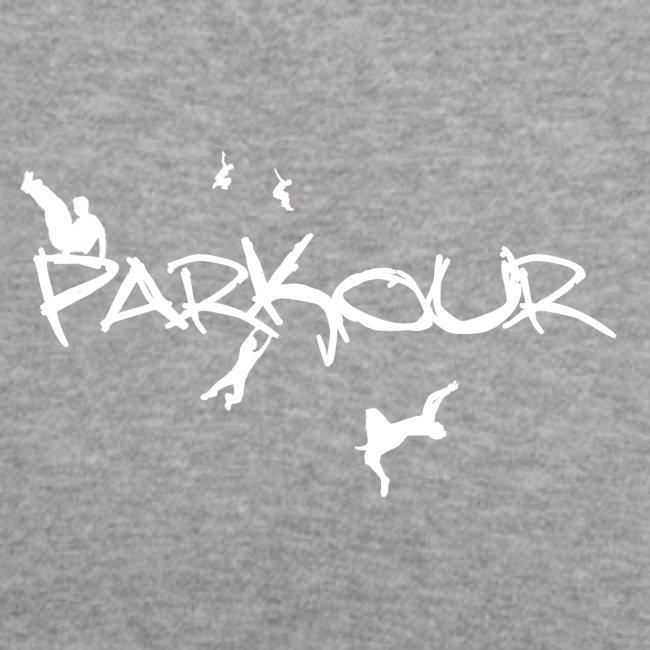 Parkour White Print