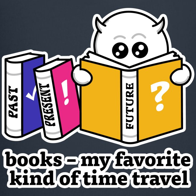 books – my favorite kind of time travel