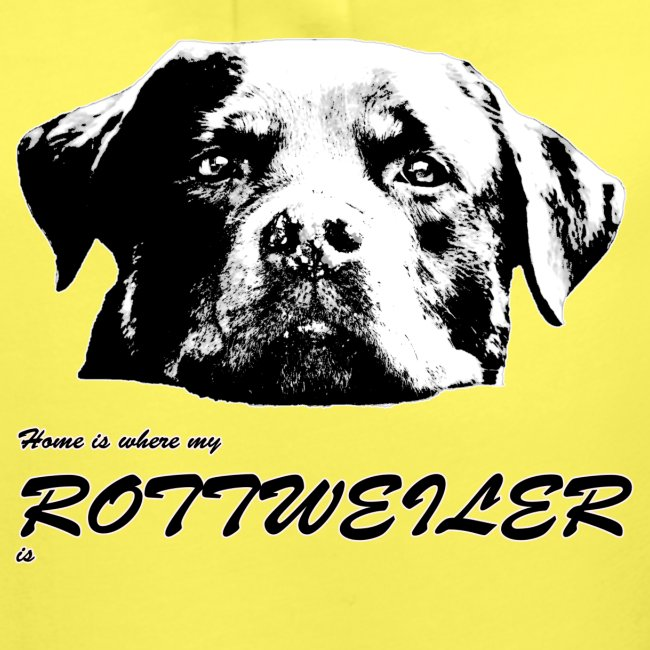 Home is where my Rottweiler is