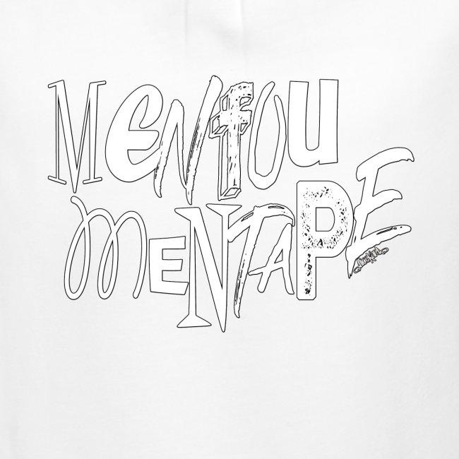 MENFOUMENTAPE blanc et noir by Alice Kara