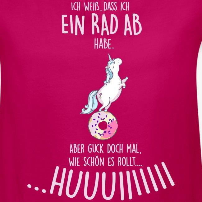 Vorschau: rad ab_einhorn - Mädchen-T-Shirt mit Raffungen