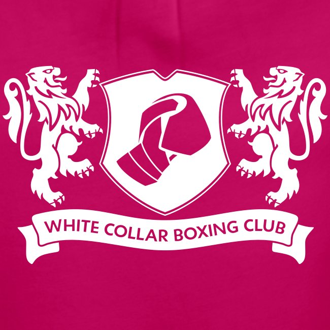 """White Collar Boxing Hoodie """"Classic-Blue"""""""