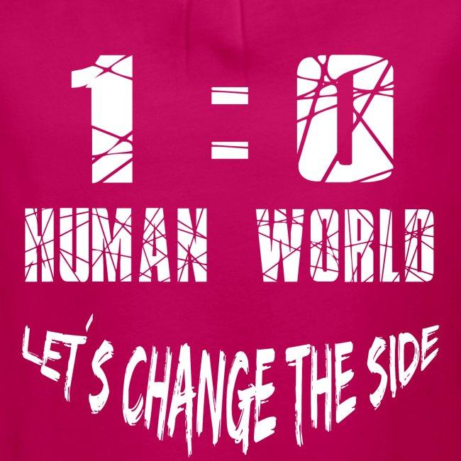 Human VS World Mensch gegen Welt