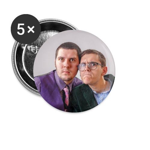 Moumou et Tocard - Lot de 5 petits badges (25 mm)