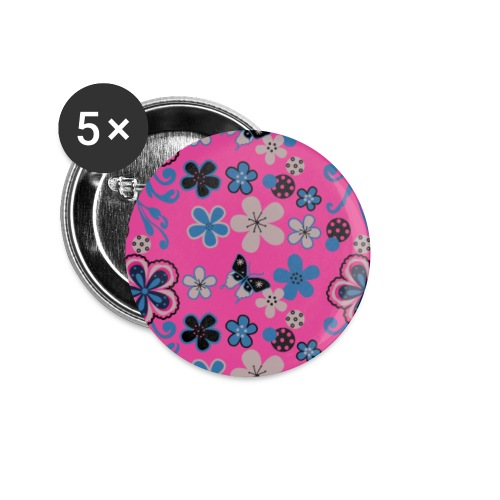 Lovedesh® Pansy - Buttons small 1''/25 mm (5-pack)