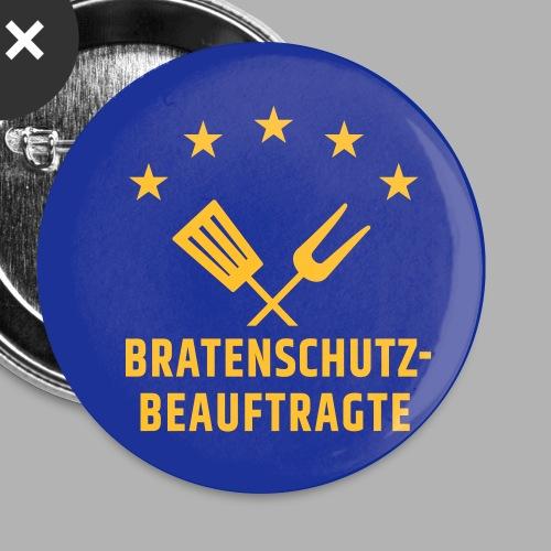 EU Bratenschutz-Beauftragte - Buttons klein 25 mm (5er Pack)