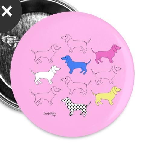 Puppies - Rintamerkit pienet 25 mm (5kpl pakkauksessa)