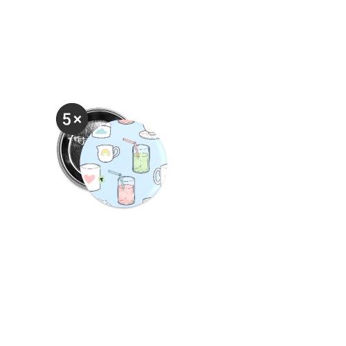 Fika Gear - Små knappar 25 mm (5-pack)