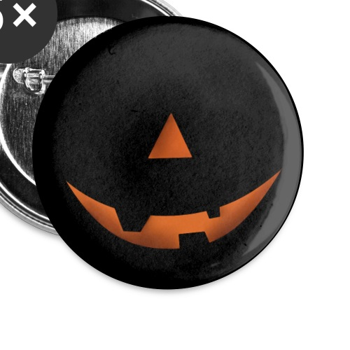 pumpkin smile - Buttons small 1''/25 mm (5-pack)