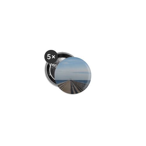 Seebruecke - Buttons klein 25 mm (5er Pack)