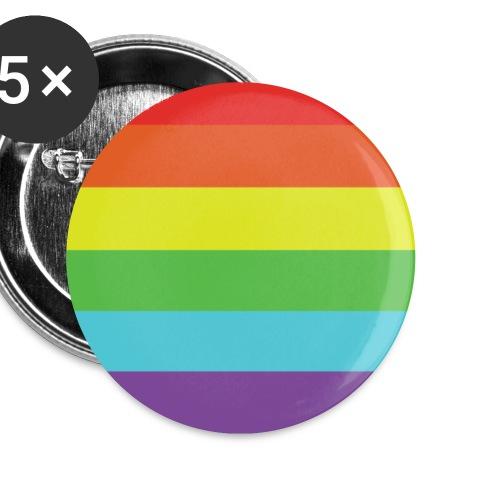 Pride - Rintamerkit pienet 25 mm (5kpl pakkauksessa)