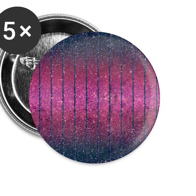 Glitter Muster in Pink rosa Blau schillernd Chic