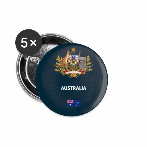 Australia passport phone case - Buttons small 1''/25 mm (5-pack)