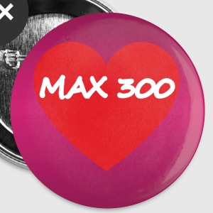 Valentines - MAX 300 - Buttons small 25 mm