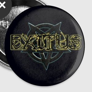 Exitus lettrage Boutons - Badge petit 25 mm