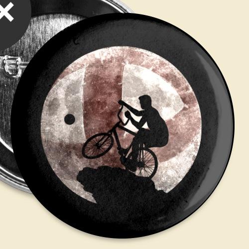 Radball | Moon Maske - Buttons klein 25 mm (5er Pack)