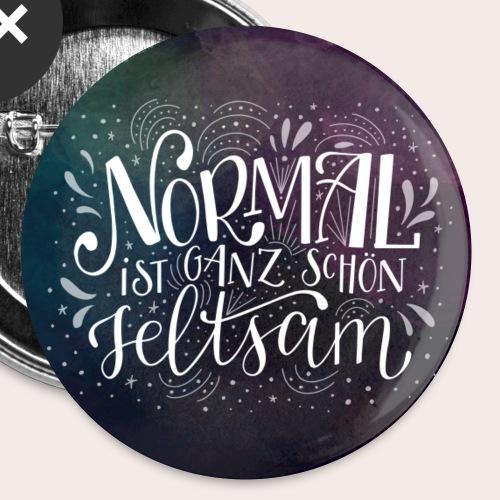 NORMAL ist ganz schön seltsam - Buttons klein 25 mm (5er Pack)
