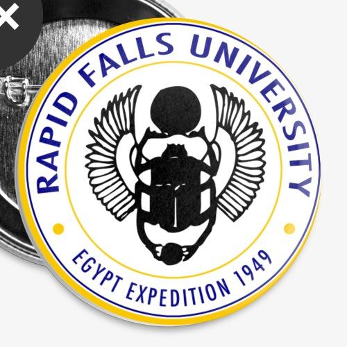 Rapid Falls University - Rintamerkit pienet 25 mm (5kpl pakkauksessa)