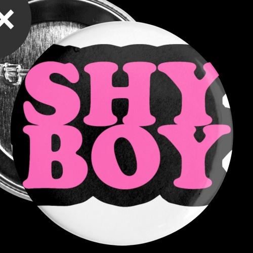 Shy Boy - Buttons small 1''/25 mm (5-pack)