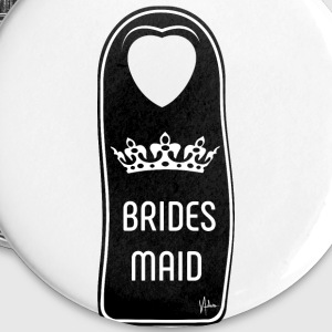 The wedding´s Bridesmaid - Buttons klein 25 mm