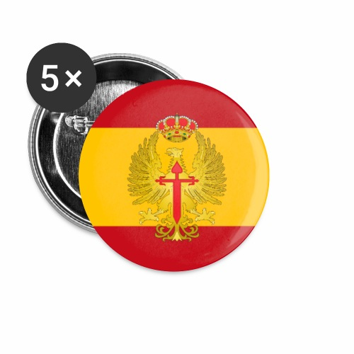 Ejercito de Tierra flag phone case - Buttons small 1''/25 mm (5-pack)