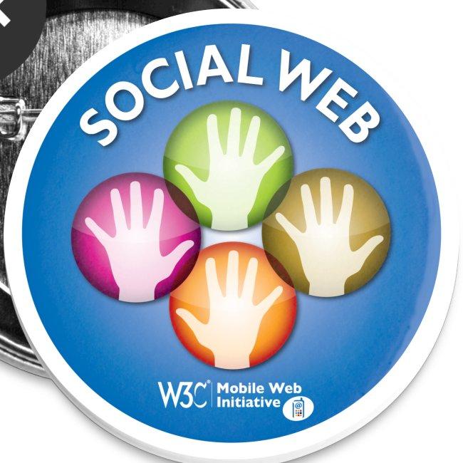sticker social web