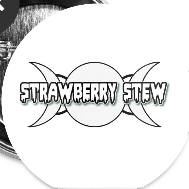 Strawberry Stew // Logo and moons