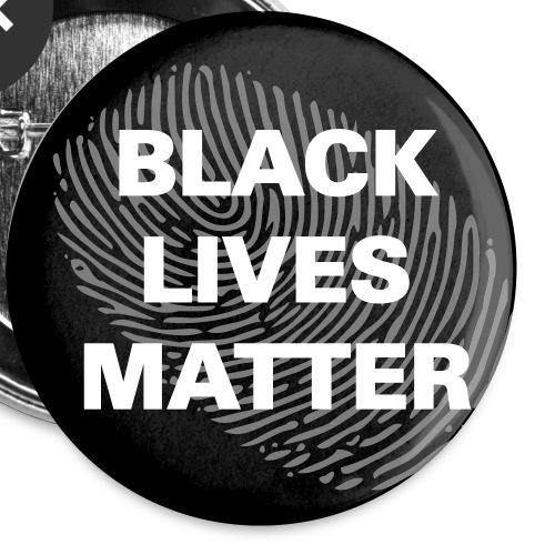 black lives matter circle - Buttons klein 25 mm (5er Pack)