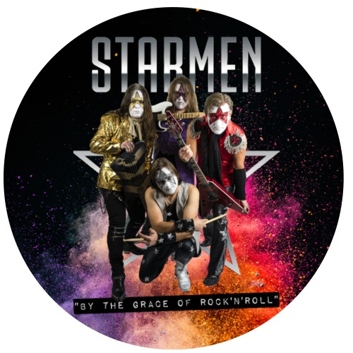 Starmen - By the Grace of Rock 'n' Roll - Buttons small 1''/25 mm (5-pack)