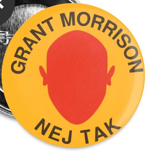 Nej tak, Grant-badge - Buttons/Badges lille, 25 mm (5-pack)