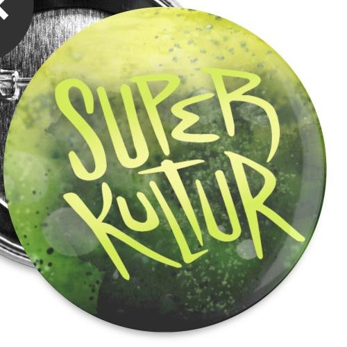 Superkultur-badge - Buttons/Badges lille, 25 mm (5-pack)
