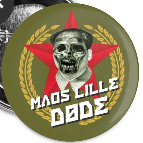 Maos lille døde-badge - Buttons/Badges lille, 25 mm (5-pack)