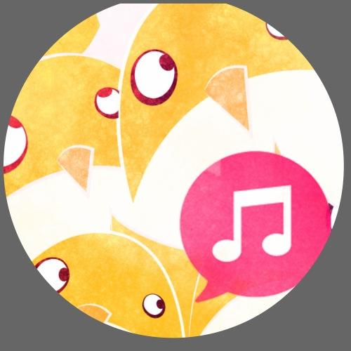 Little birds - Lot de 5 petits badges (25 mm)