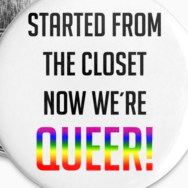 Not in the closet anymore