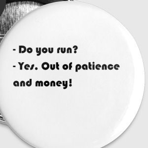Do you run? - Buttons small 25 mm
