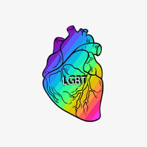 HEART.LGBT - Chapa pequeña 25 mm