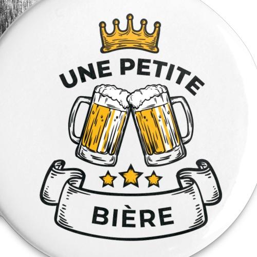 White - Lot de 5 petits badges (25 mm)