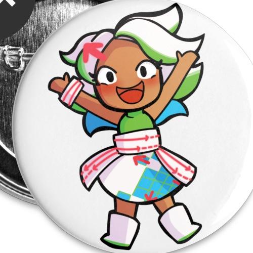 Deshima-chan - Buttons klein 25 mm (5-pack)