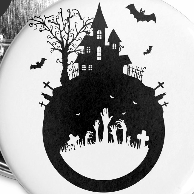 Haunted House - Halloween Design