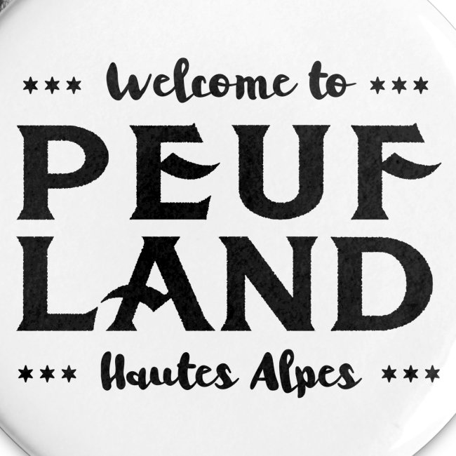 Peuf Land 05 - Hautes-Alpes - Black