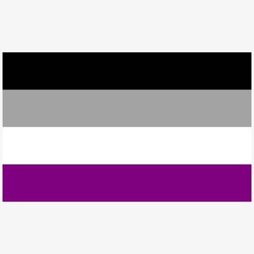 Asexual.LGBT - Paquete de 5 chapas pequeñas (25 mm)