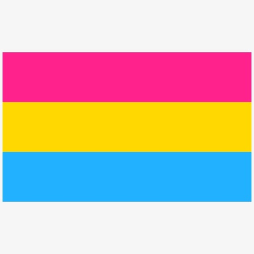 Pansexuality.LGBT - Chapa pequeña 25 mm