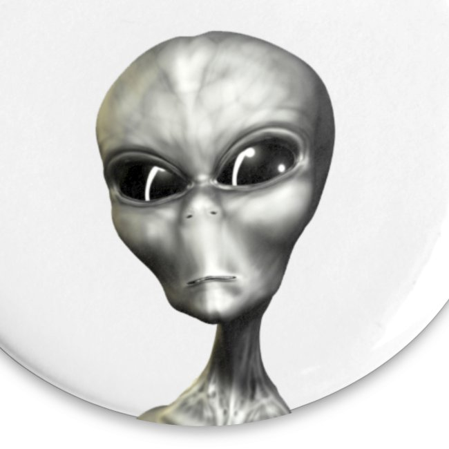 "Chapa ""Alien Gris"""